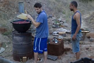 Chef Cameron Smokes Salmon on a Rocket Smoker