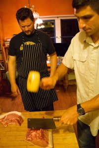 Pork Chop, Chop